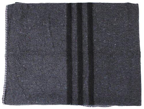 MFH Biwakdecke, Umzugsdecke, Polyester Recycling, KFZ Decke, Anthrazit, 200 x 150 cm