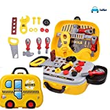 #8: FunBlast Kid's Little Engineer Pretend Construction Toolbox (Multicolour, FB_TS)