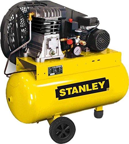 Compresseur Bicylindre à Courroie Stanley 2 HP 50 L 10 Bar