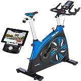Skandika Hero I - Vélo spinning - Bluetooth - Support tablette -...