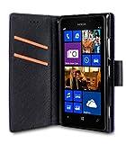Melkco Kooso Koo Book für Nokia Lumia 925 hell purple quermuster