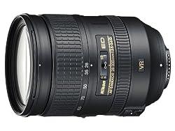 Nikon AF-S 28-300 mm 1:3.5-5.6G ED VR Reisezoom-Objektiv inkl. HB-50 (77 mm Filtergewinde, bildstabilisiert) Schwarz