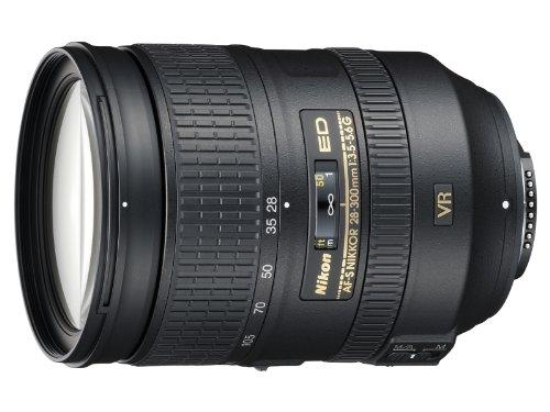 Nikon AF-S 28-300mm 1:3.5-5.6G ED VR Objektiv inkl. HB-50 (77 mm Filtergewinde) (Nikon Hinterer Objektivdeckel)