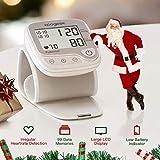 Tensiometre Bras Electronique,Koogeek Professionnel Tensiometre Numérique Poignet Connecté Bluetooth, avec Fonction de Détection de la Fréquence Cardiaque et de Grand écran LCD et 99 Mémoires
