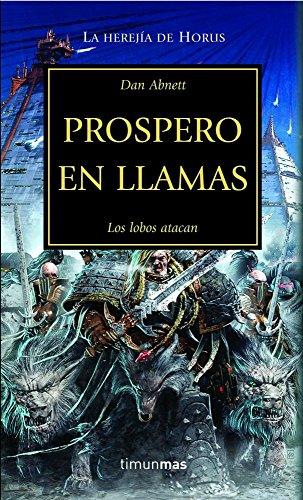 Prospero en llamas: Los lobos atacan (Warhammer 40.000) por Dan Abnett