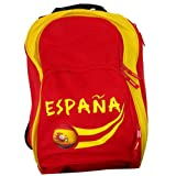 Supportershop Espagnol Mochila, Hombre, Multicolor-Multi-Coloured-Red/Yellow, 45 x 32 x 23 cm