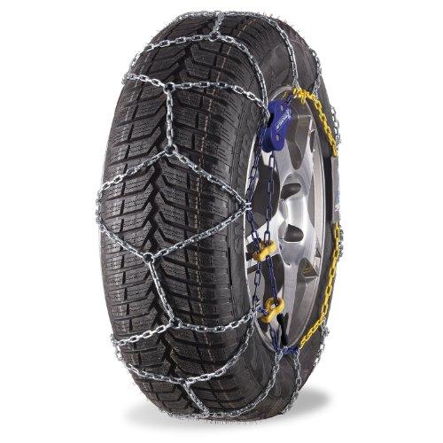 Michelin 92314 Chaînes à neige M1 avec système Extrem Grip 73, compatibles ABS et ESP, certifiées TÜV/GS et ÖNORM, 2 pièces