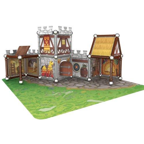 Imagen 1 de Giochi Preciosi 601050 - Geomag Castillo 163 Piezas