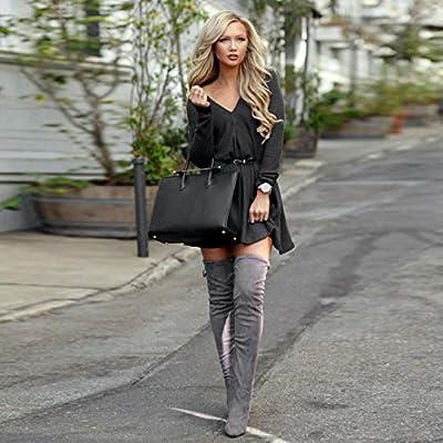 Oyedens - Suéter - Vestido Mini