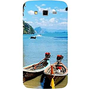 Casotec Sea View Design Hard Back Case Cover for Samsung Galaxy Grand 2 G7102 / G7105