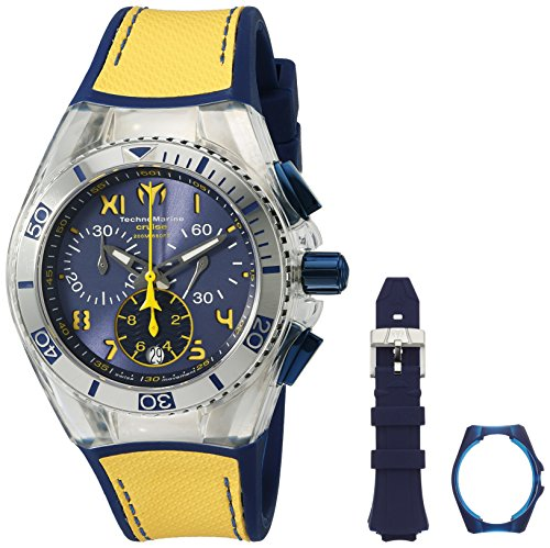 technomarine-unisex-quartz-watch-with-blue-dial-chronograph-display-and-blue-silicone-strap-tm-11501