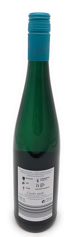 Gnther-Jauch-Wein-Weiss-Trocken-Qualittswein-wei-075-l-Winzerei-Made-in-GermanyDeutschland