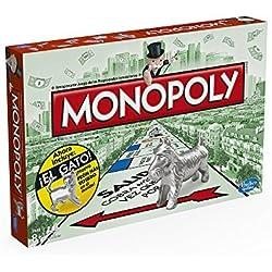 Hasbro Gaming - Juego de mesa Monopoly clásico, versión española (Hasbro 00009546)