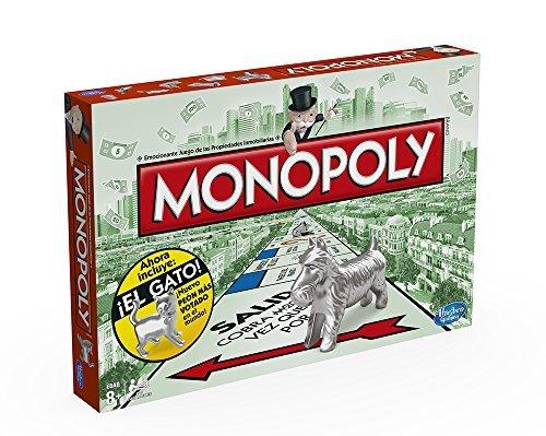 Hasbro Gaming - Juego de mesa Monopoly clásico, versión española (Hasbro...