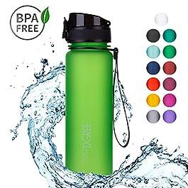720°DGREE Bottiglia di Acqua uberBottle – 500ml | Bottiglia Prova di Perdite per Sportivo, Scuola, Bambini | Senza BPA