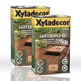2 x Xyladecor Gartenholz-Öl Natur rötlich 2,5l Gartenöl Holzöl (5 Liter)