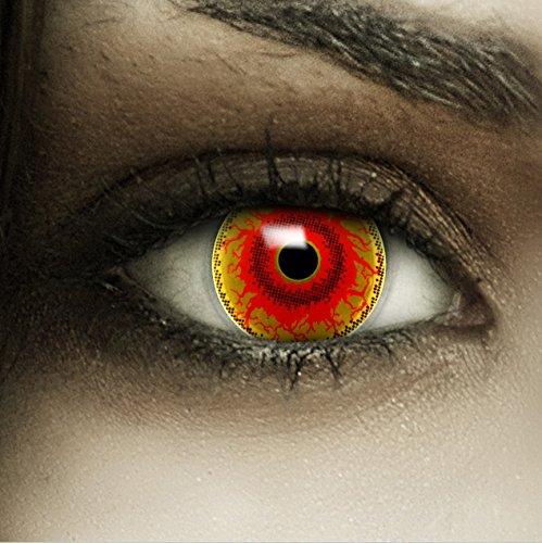 Kontaktlinsen Monster (Farbige Kontaktlinsen