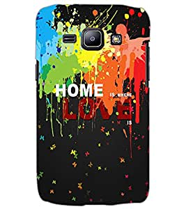 SAMSUNG GALAXY J1 HOME Back Cover by PRINTSWAG