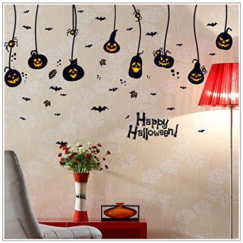 Halloween-Wand-Aufkleber Feiertags-Fenster-Glas-Verzierungen (Schwarze Katze Halloween-verzierung)
