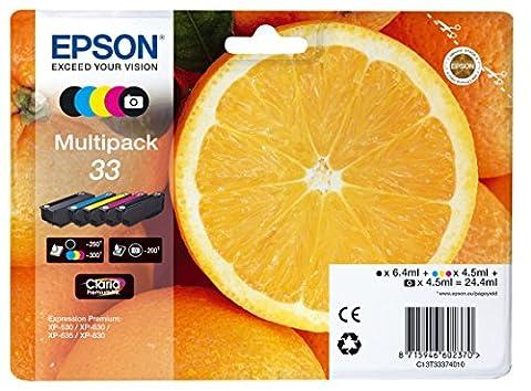 Epson Cartouche - Encre d'origine EPSON Multipack Oranges T3337 :