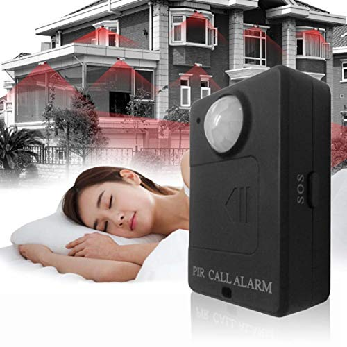 Security Alarm Mini Gsm Pir Alarm Motion Sensor Alarm Infrared Wireless Gsm Alarm Anti-theft Motion Detector With Eu Plug High Sensitivity To Help Digest Greasy Food Sensor & Detector