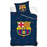 Barcelona F.C. Barça - Conjunto de funda de edredón y funda de almohada