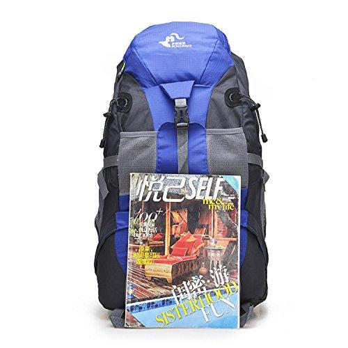 HWJDK mgb 30l trekking - rucksäcke reisen spritzwasser - rucksack / klettern wander - tasche Red