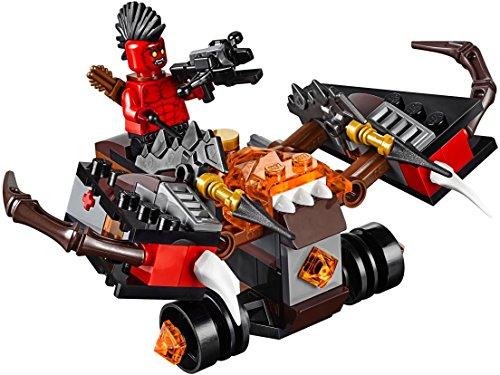Ab Für Jahren Buch-sets Jungen 7 (LEGO Nexo Knights 70318 - Globlin Armbrust)