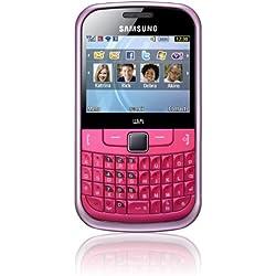 Samsung Ch@t 335 Téléphone portable GSM/EDGE/GPRS Bluetooth Rose