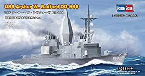 Hobby Boss 82505 Plastic Model Kit Scale 1:1250 - USS Arthur W Radford DD-968