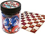 Bottle Cap Checkers With Play Mat Great ...