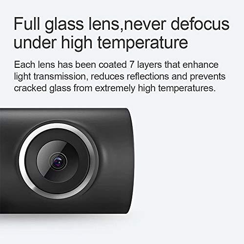 51%2BsHJM3zQL - Xiaomi 70mai Smart Dash CAM con WiFi Incorporado, con Control de Voz, grabación de Emergencia, Panel de Control de App, HD 1080P, Gran Angular de 130 ° con visión Nocturna, G-Sensor, DVR automóvil