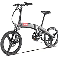 Smart S2e eléctrica plegable bicicleta 250W