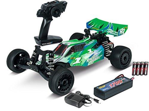 Carson 500404157 1:10 Race Rebel 2WD X10 2.4G 100% RTR