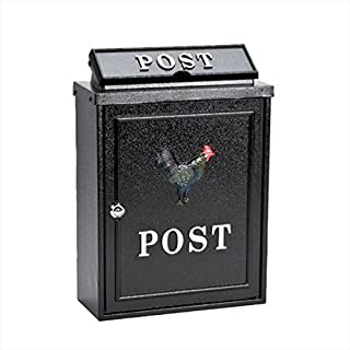 Arboria Hahn Design Briefkasten aus Aluminiumguss
