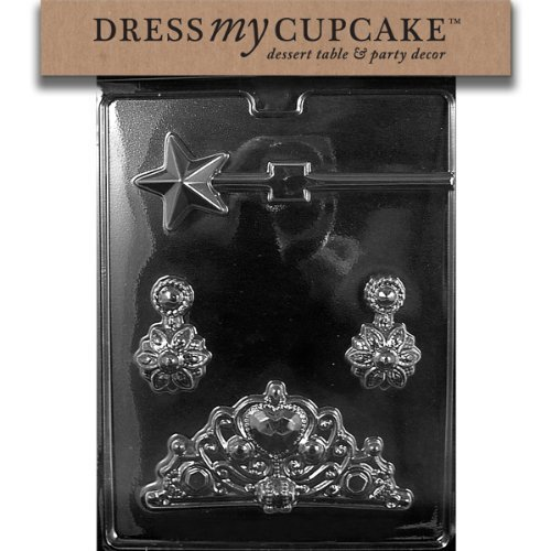 Dress My Cupcake Chocolate Candy Mold, Princess Bundle for Specialty Box by Dress My Cupcake