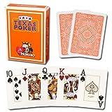 #6: Modiano Texas Poker Jumbo - Orange
