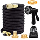 100FT Expanding Garden Water Hose Pipe/ 3 Times Expandable Flexible Magic Lightweighte
