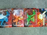 Dragon 4' Toy Figurine (Assorted, Colors & Styles Vary)