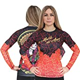 aim Ladies Rashguard Chica Red-s Damen Kompressionsshirt