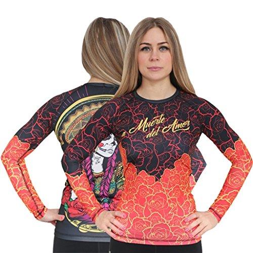aim Ladies Rashguard Chica Red-xs Damen Kompressionsshirt