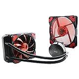 SSSLG Raffreddatore d'Acqua CPU, Ventilatore LED Silenzioso, radiatore Integrato raffreddato ad Acqua, Ventola da 120mm