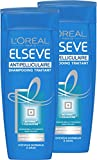 L'Oréal Elsève Anti-Schuppen-Shampoo für normales und fettiges Haar, 250 ml, 2 Stück