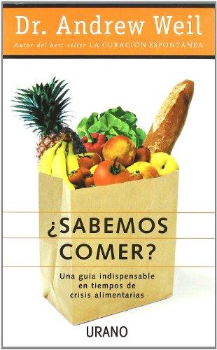 Portada del libro ¿Sabemos comer? (Medicinas complementarias)