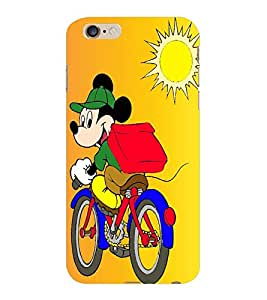 ColourCraft Lovely Cartoon Character Design Back Case Cover for APPLE IPHONE 6 PLUS