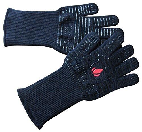 """Extreme Hitze BBQ Grill Back-, Grill- und Ofenhandschuhe - Verwenden Sie Schutz bis zu 932 °, 14 """"lang, 2 Handschuhe"""