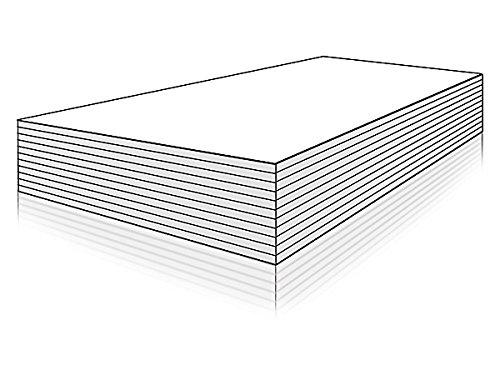 Preisvergleich Produktbild Papier weiß (500 Blatt) DIN A4 80g / qm (für Laserdrucker)