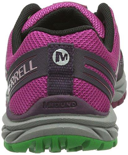 Merrell BARE ACCESS TRAIL Damen Outdoor Fitnessschuhe Mehrfarbig (WINE/PLUM)