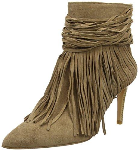 Zinda 2112 Damen Kurzschaft Stiefel Beige (Kamel)