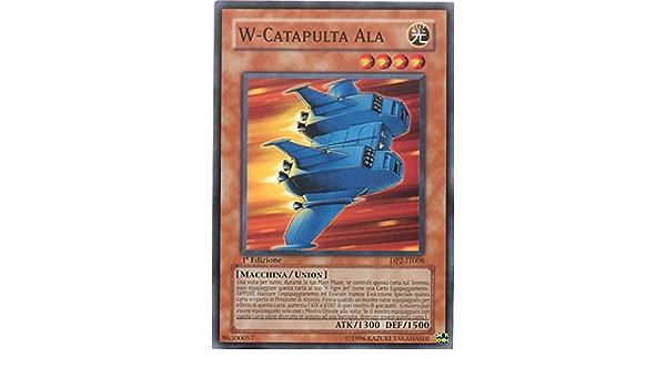 DP2-IT008 Unlimited Edition Yu-Gi-Oh! W-Catapulta Ala Chazz /& Princeton Comune